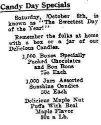 sweetest day candy specials