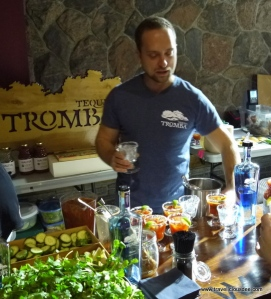 Walter's Caesars with Tromba Tequila