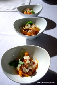 Sweet Potato Gnocchi with Wild Boar Ragu